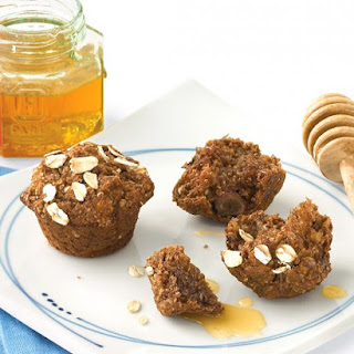 Oat Bran-Applesauce Mini Muffins.