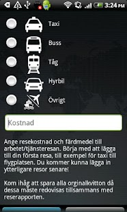 Reseräkning - screenshot thumbnail