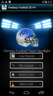 Fantasy Football 2014 HMT+ - screenshot thumbnail