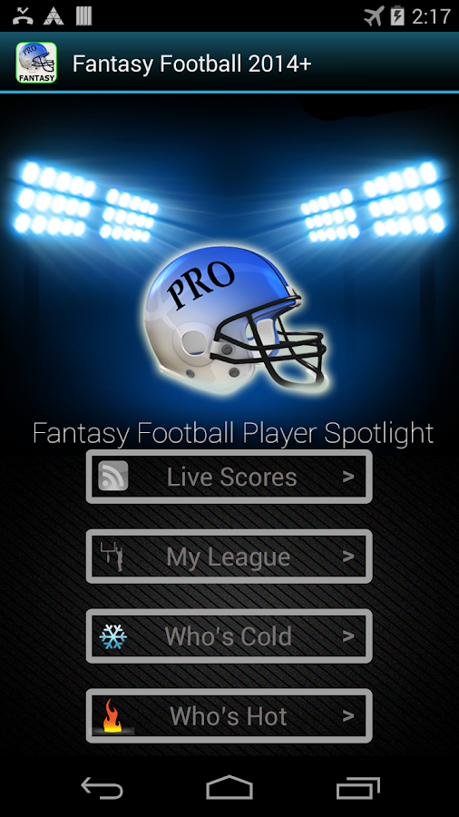 Fantasy Football 2016 HMT+- screenshot