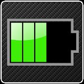 Carbon-style Battery Widge