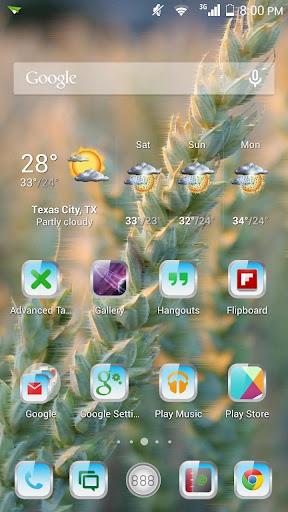 【免費個人化App】Mist HD 2 Apex Nova ADW Theme-APP點子