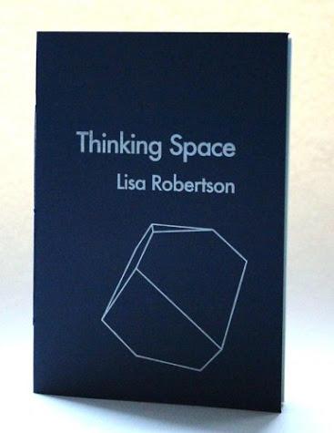 Lisa Robertson's Thinking Space