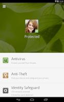 Screenshot of Avira Antivirus Security