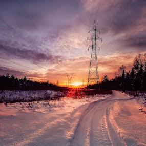 - Electrify - by Joe Hamel - Landscapes Sunsets & Sunrises