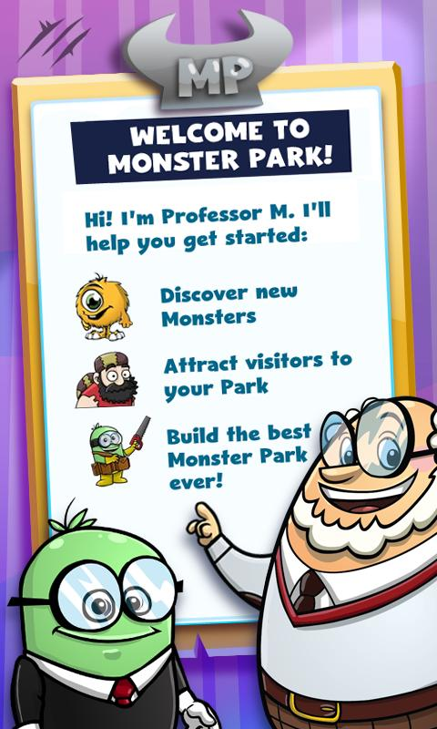 Monsterama Park - screenshot