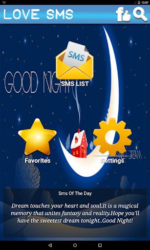 Good Night Love SMS