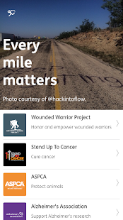 Charity Miles- screenshot thumbnail