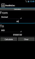Screenshot of HexBinDec
