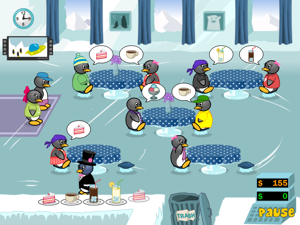 penguins diner 3