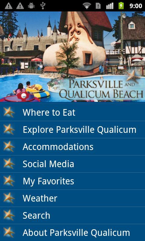 Parksville Qualicum Beach- screenshot