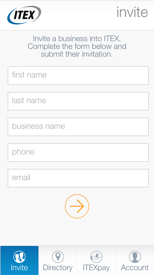 ITEX Mobile- screenshot