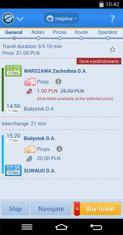 e-podroznik.pl - screenshot