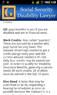 Social Security Lawyer - screenshot thumbnail