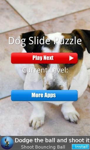 Dog Slide Puzzle
