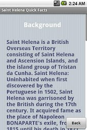 Saint Helena Quick Facts