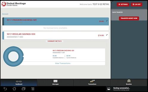 UHCU Mobile - screenshot thumbnail