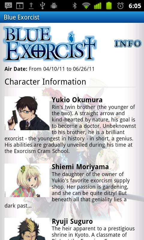 Blue Exorcist - Watch Now! - screenshot