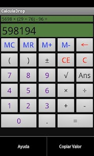 CalculaDrop - screenshot thumbnail
