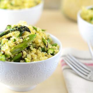 Lemon Pepper Asparagus Quinoa.