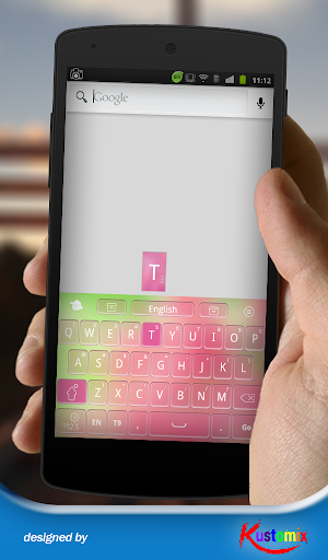 【免費個人化App】Pink Theme Keyboard-APP點子