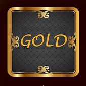 Next Launcher Luxury Gold