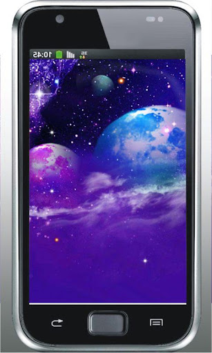 Space Flash Top Live Wallpaper