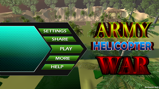 Army Helicopter War 3D