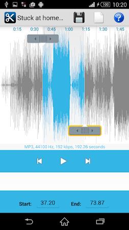 MP3 Cutter Ringtone Maker Free 5 screenshot 44677