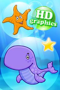 Ocean puzzle HD for toddlers- screenshot thumbnail