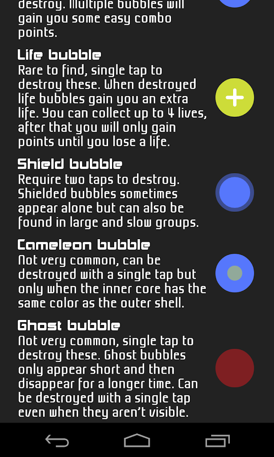 BubbleTap- screenshot