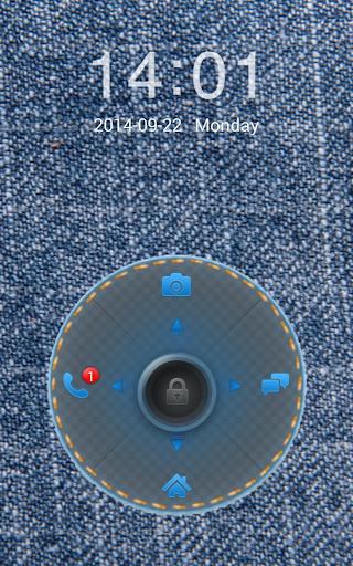 Jeans Theme for Go Locker