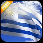 3D Uruguay Flag Live Wallpaper icon