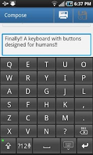 Big Buttons Keyboard Deluxe- screenshot thumbnail