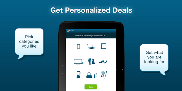 BuyVia Free Coupons & Deals- screenshot thumbnail