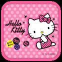 Hello Kitty Pink Badge Theme icon