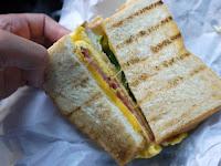 廟口碳烤三明治