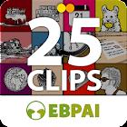 25 clips para aprender inglés icon