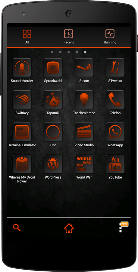 Apex/Nova Semiotik Orange Icon- screenshot