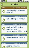 Screenshot of HelloAndroid Reader