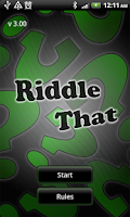 Screenshot of Riddle That