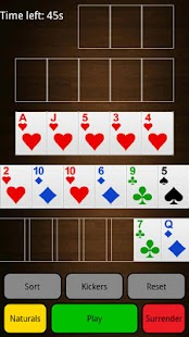 Beta Chinese Poker Online - screenshot thumbnail