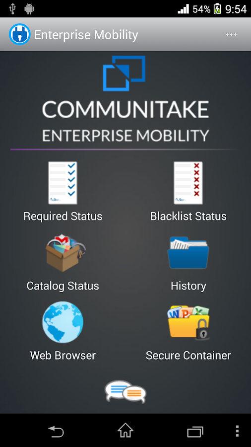 Enterprise Mobility - screenshot