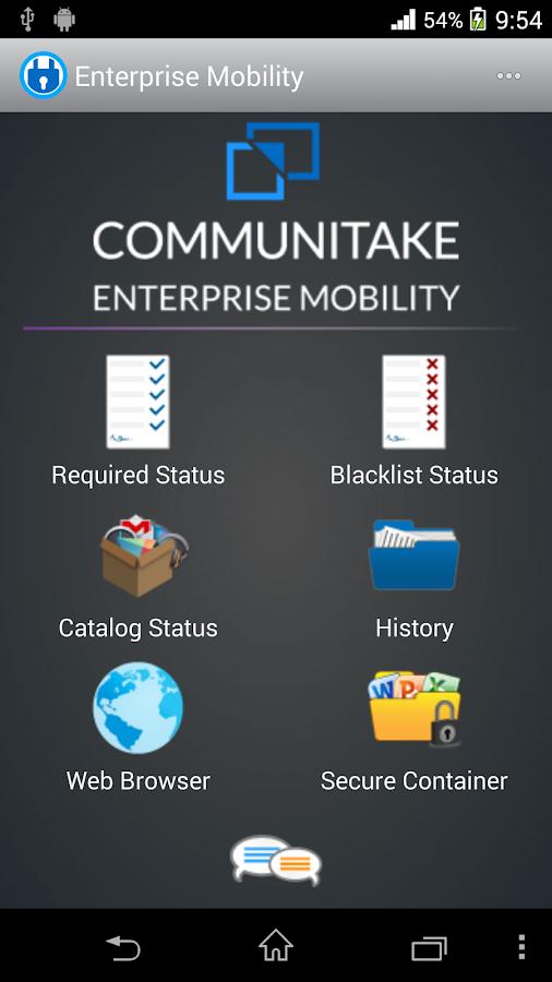 Enterprise Mobility - screenshot