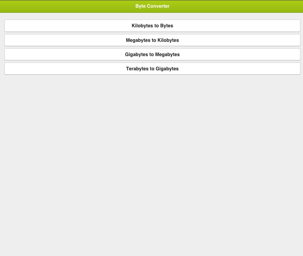 Megabytes to gigabytes android apps on google play megabytes to gigabytes screenshot nvjuhfo Images