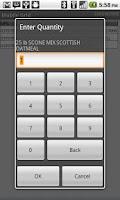Screenshot of Grid-In-Hand® Mobile Grid