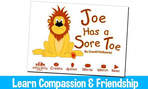Joe Has a Sore Toe