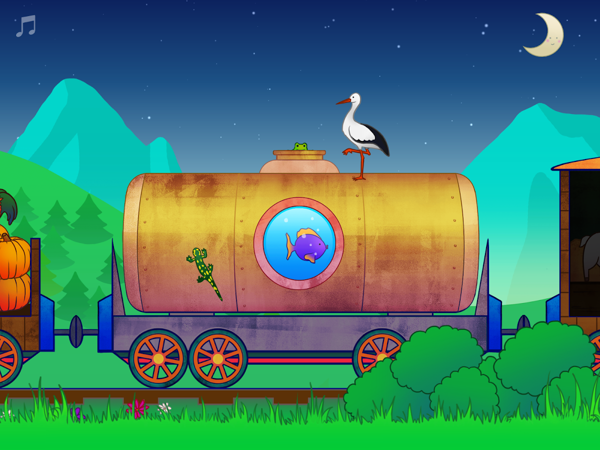 Animal Train for Toddlers- screenshot