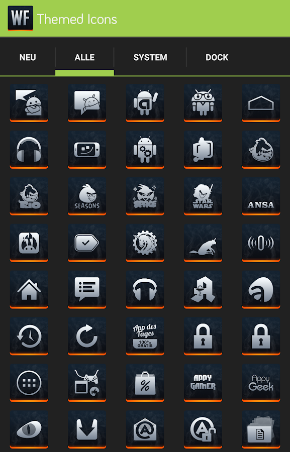 Apex/Nova - Warfield Icon Pack- screenshot