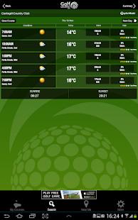 Golf Weather - screenshot thumbnail